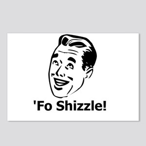 'Fo Shizzle Postcards (Package of 8)